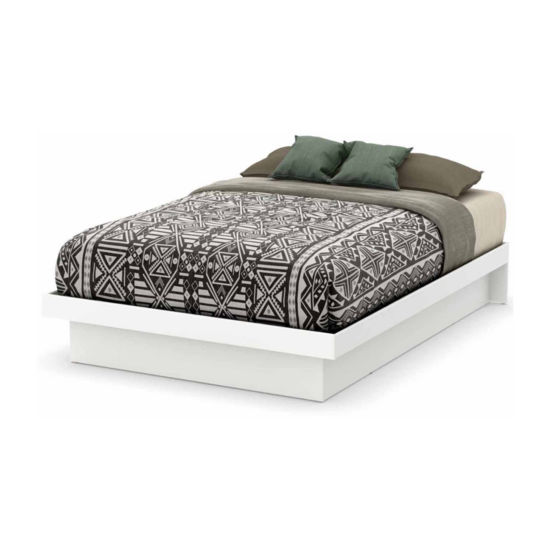 Basic Platform Bed with Moldings