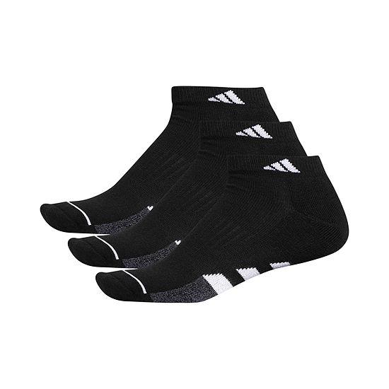 adidas 3 Pair Low Cut Socks-Mens