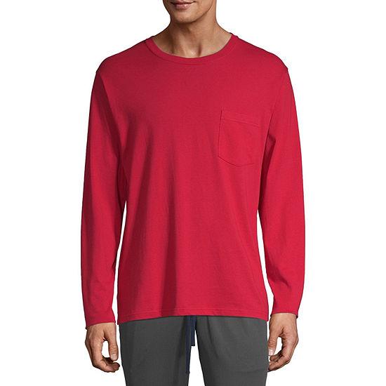 Stafford Blended Long Sleeve Crew Neck T-Shirt