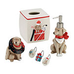Avanti Holiday Dogs Toothbrush Holder