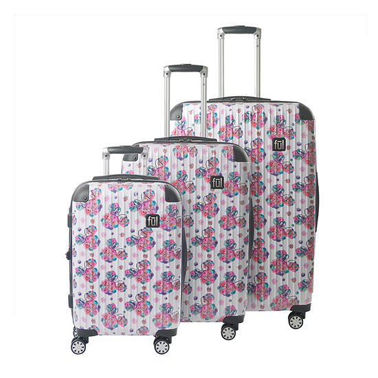 Ful Disney Minnie Mouse 3-pc. Hardside Lightweight Luggage Set