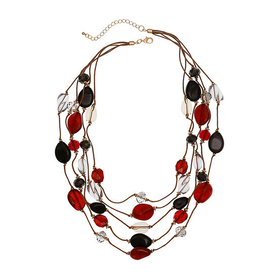 EL by Erica Lyons 23 Inch Beaded Necklace