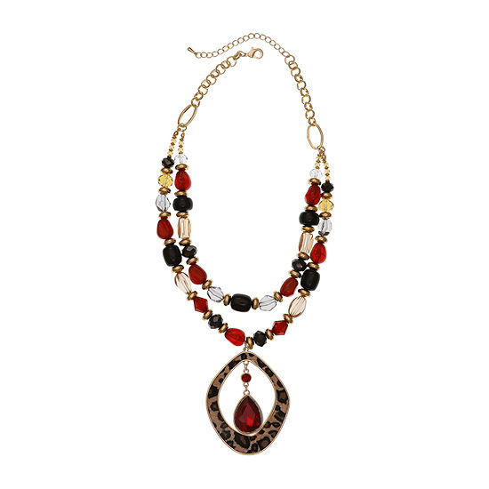 EL by Erica Lyons 19 Inch Beaded Necklace