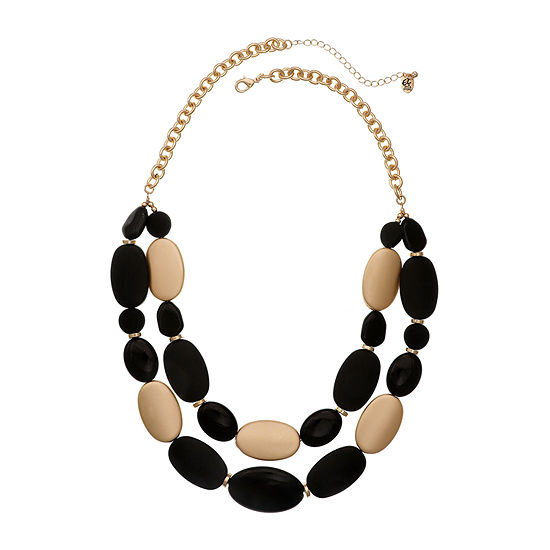EL by Erica Lyons 24 Inch Cable Beaded Necklace
