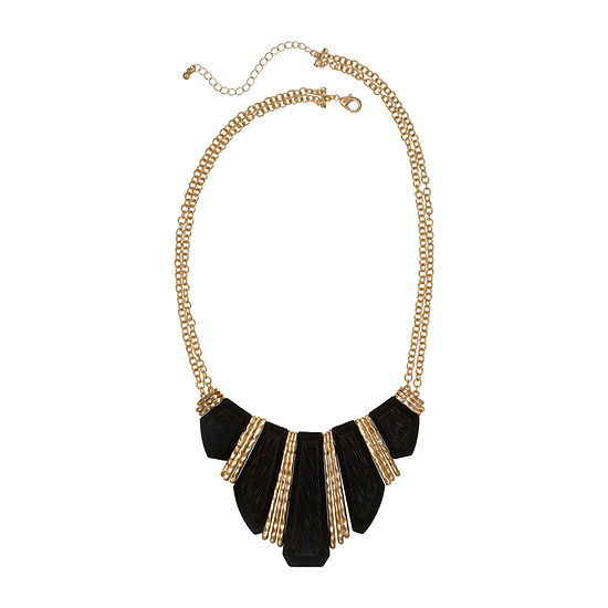 EL by Erica Lyons 18 Inch Cable Collar Necklace