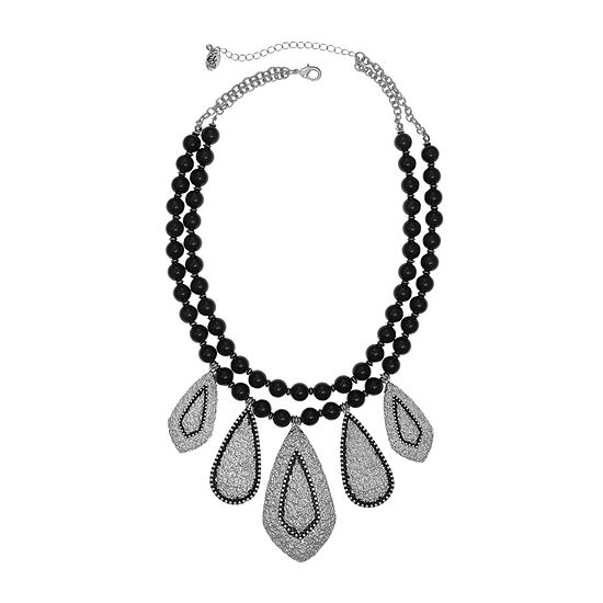 EL by Erica Lyons 18 Inch Cable Statement Necklace