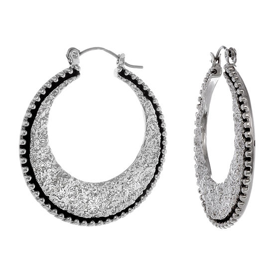 Erica Lyons Hoop Earrings