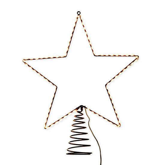 Kurt Adler 17.5-Inch Metal Lighted Led Star Treetop Christmas Tree Topper