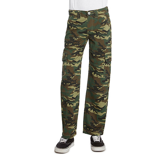 Dickies Big Boys Mid Rise Straight Cargo Pant