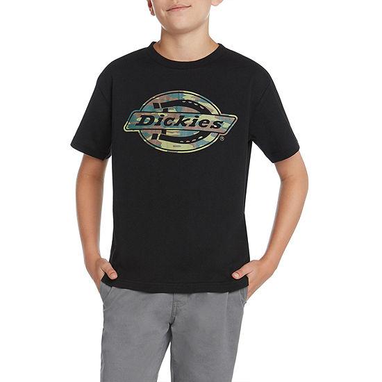 Dickies Big Boys Crew Neck Short Sleeve Graphic T-Shirt