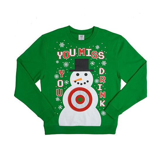 Mens Christmas Sweater With Velcro
