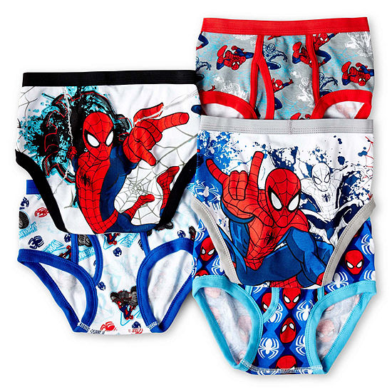 Spider-Man 5-pk. Briefs - Boys 4-8