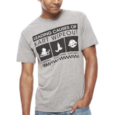 Nintendo Kart Crashes Graphic T-Shirt