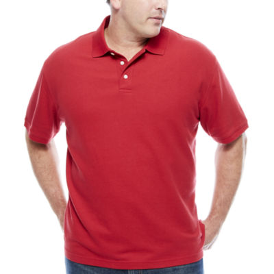 The Foundry Big & Tall Supply Co. Quick Dry Short Sleeve Knit Polo Shirt Big and Tall