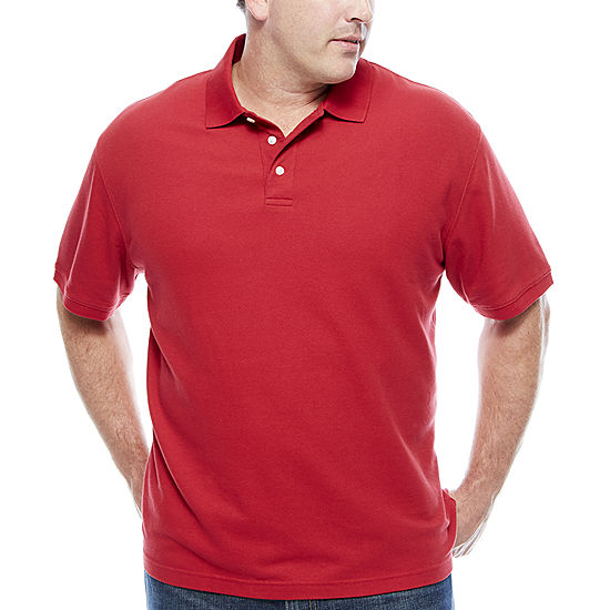 The foundry big tall supply co short sleeve easy care for Foundry men s polo shirts