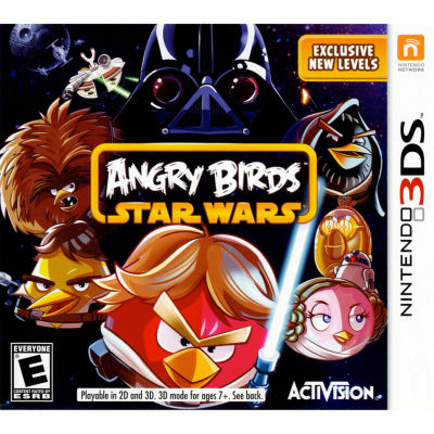 Angry Birds Star Wars Video Game-Nintendo 3DS