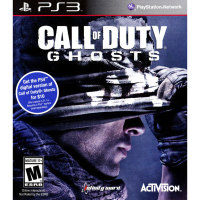Call Of Duty Ghosts Video Game-Playstation 3