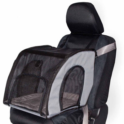 "K & H Manufacturing Travel Safety Carrier Small Gray 17"" x 16"" x 15"""