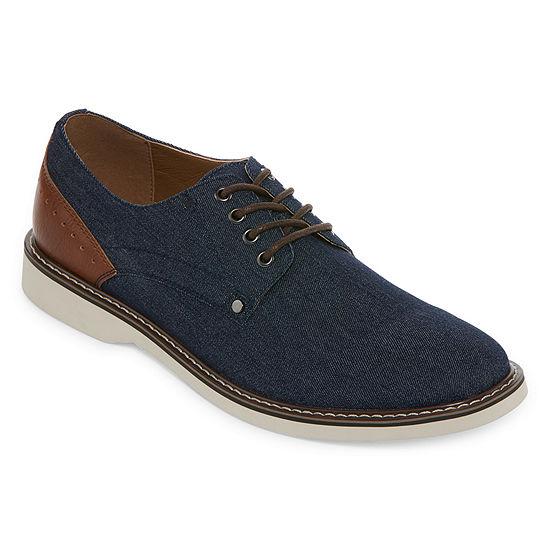 JF J.Ferrar Mens Morton Oxford Shoes Lace-up