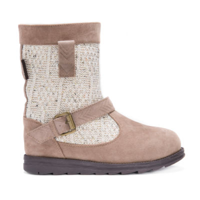 Muk Luks Gina Womens Water Resistant Winter Boots