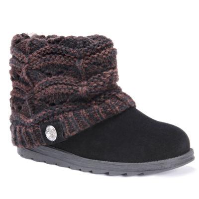 Muk Luks Poala Womens Water Resistant Winter Boots