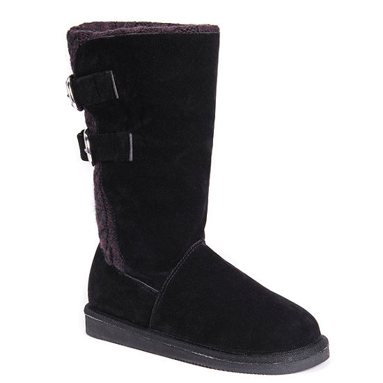 Muk Luks Womens Jean Winter Boots Pull-on