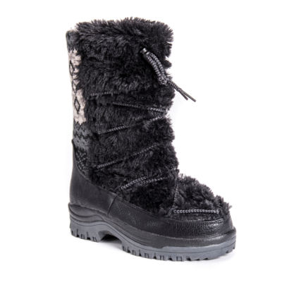 Muk Luks Massak Womens Waterproof Winter Boots