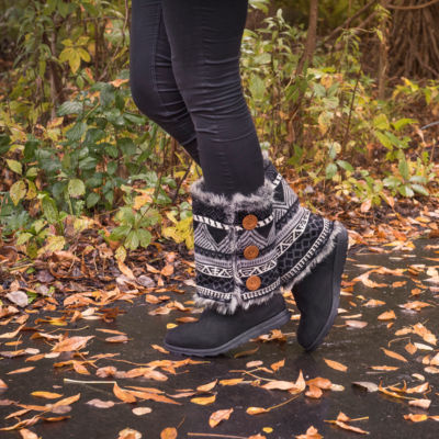 Muk Luks Andrea Womens Winter Boots