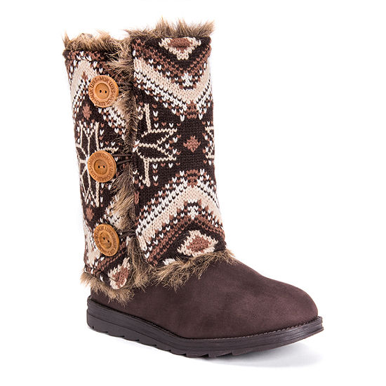 Muk Luks Womens Andrea Winter Boots