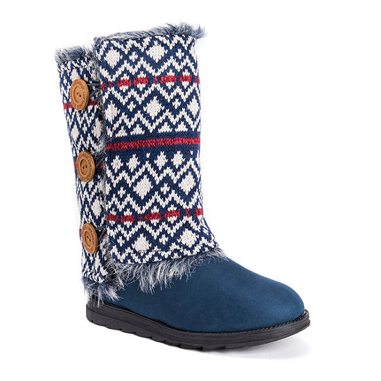 Muk Luks Womens Andrea Winter Boots