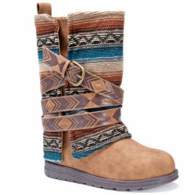 Muk Luks Nikki Womens Water Resistant Winter Boots