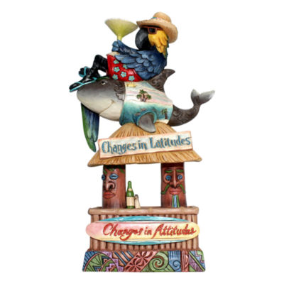 Jim Shore Stacked Margaritaville Party Figurine