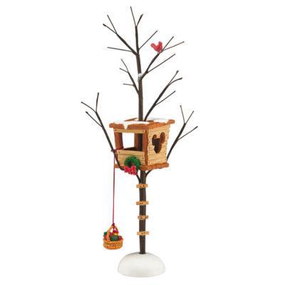 Mickey's Christmas Tree House Figurine