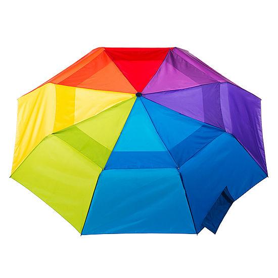 8bc1b97495c5 totes® Auto Open Close Vented Canopy Umbrella