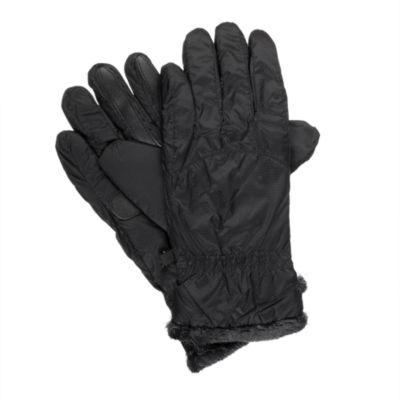 Isotoner Nylon Glove W/ Smart DRI, Smartouch, and Sleek Heat Technology