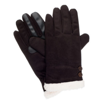 Isotoner Microsuede Glove w/ SmartDRI and smarTouch® Technology