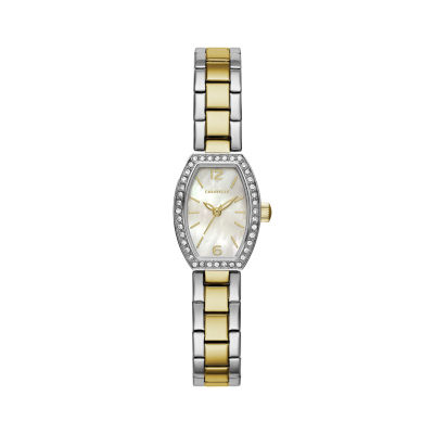 Caravelle Womens Two Tone Bracelet Watch-45l168