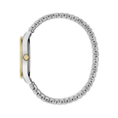 Caravelle Womens Two Tone Bracelet Watch-45m111