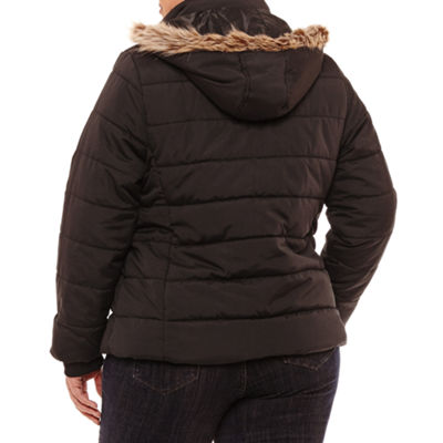 St. John's Bay Heavyweight Puffer Jacket - Plus