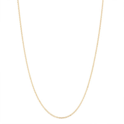 10K Gold 22 Inch Chain Necklace