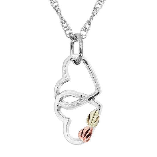 Landstroms Black Hills Gold Sterling Silver Pendant Necklace