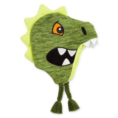 Dino Beanie - Boys Preschool 4-7