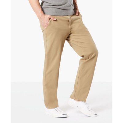 Dockers® Straight Fit Downtime Khaki Smart 360 Flex Flat Front Pants