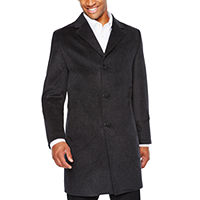 Deals on Stafford Mens Heavyweight Water Resistant Topcoat