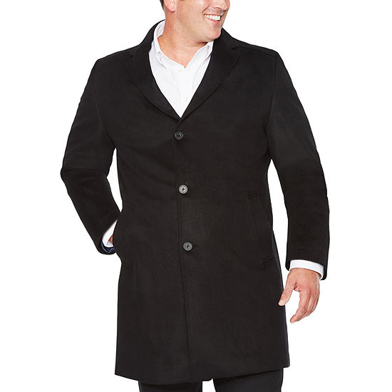 Stafford® Wool Blend Topcoat - Big and Tall