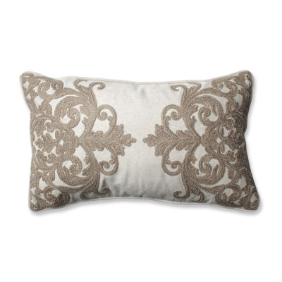 Pillow Perfect Bristol Birch Rectangular Throw Pillow