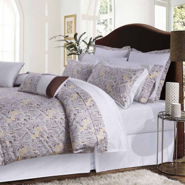 Tribeca Living Fiji Complete 12-pc. Complete Bedding Set with Sheets