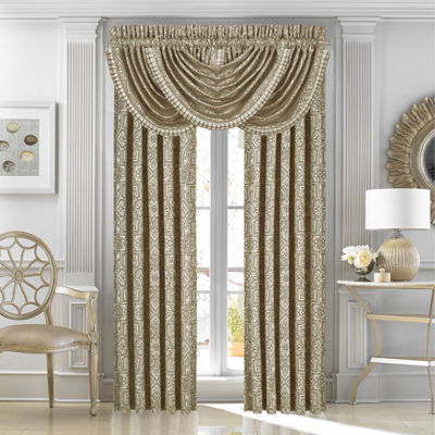 Queen Street Mariana 2 Pair Rod-Pocket Curtain Panels