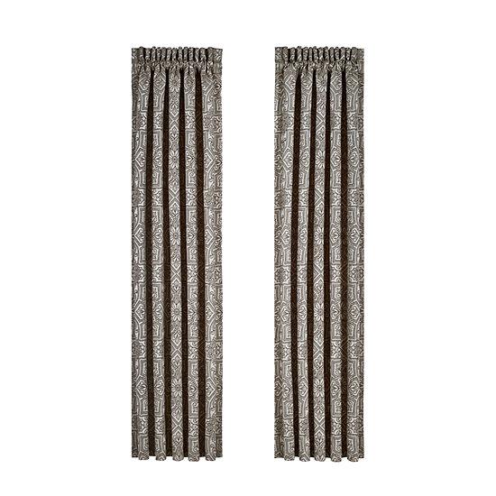 Queen Street Mariana 2 Pair Rod-Pocket Curtain Panels
