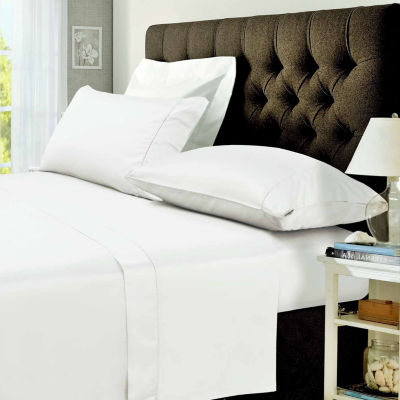 Tribeca Living 400 Thread Count Percale Sateen Sheet Set